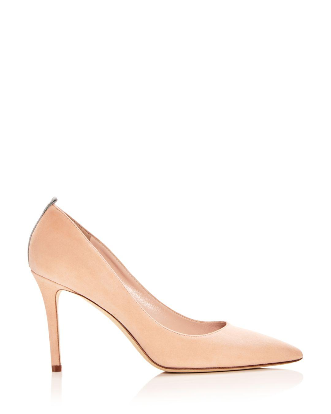 8b4285fa59 Lyst - SJP by Sarah Jessica Parker Women's Fawn Pointed-toe Pumps in  Natural - Save 25%