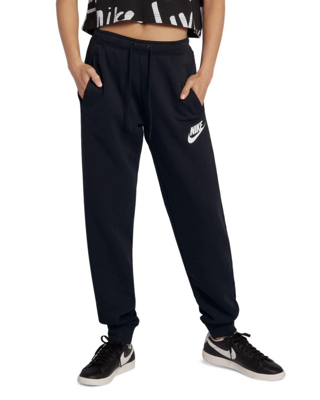 9fa8566110b0 Lyst - Nike Rally Jogger Pants in Black