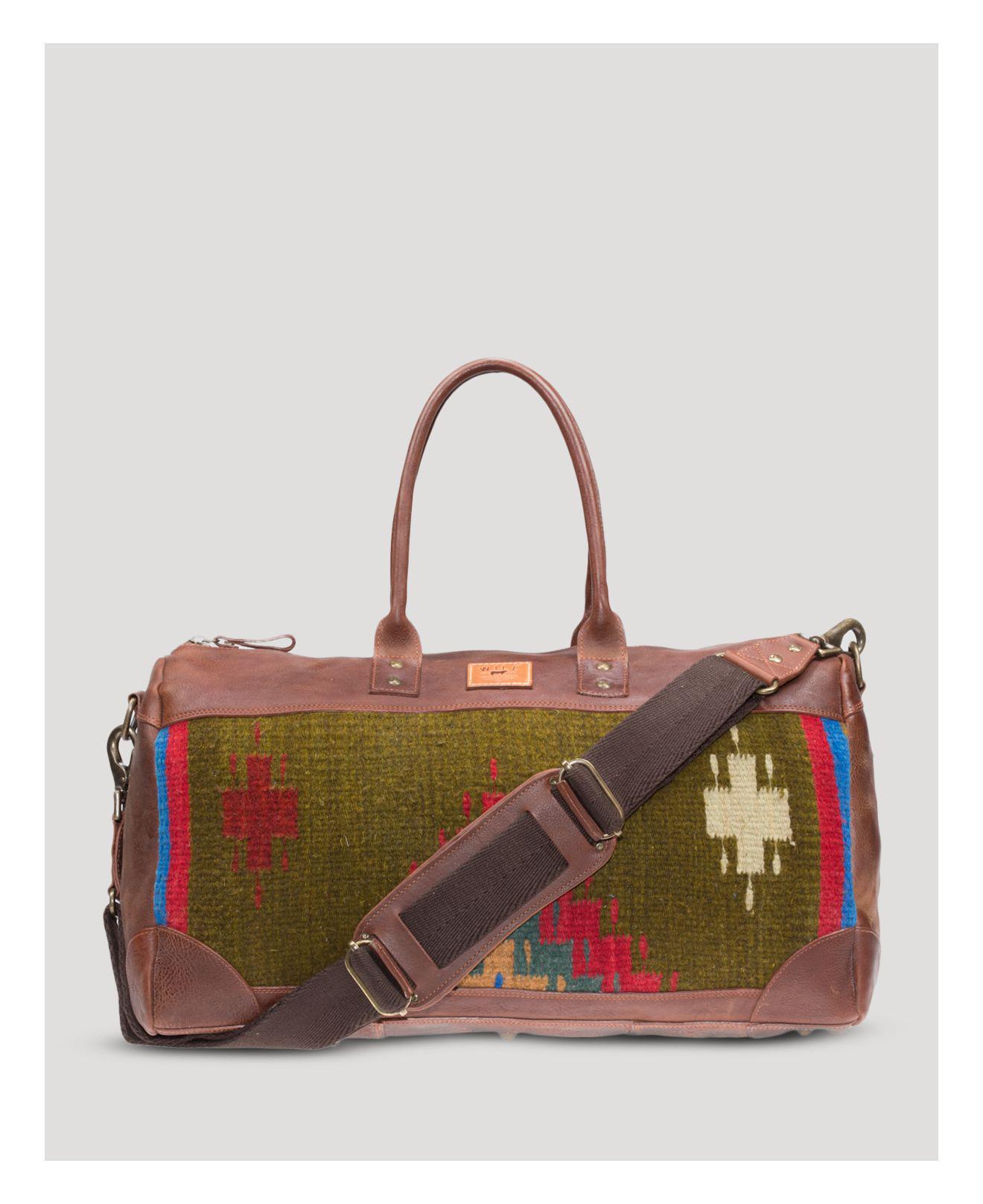 Lyst - Will Leather Goods Oaxacan Duffel in Brown for Men 402cf18b47