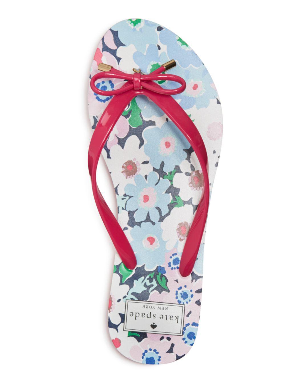 2602e817f5ee Lyst - Kate Spade Women s Nova Flip-flops