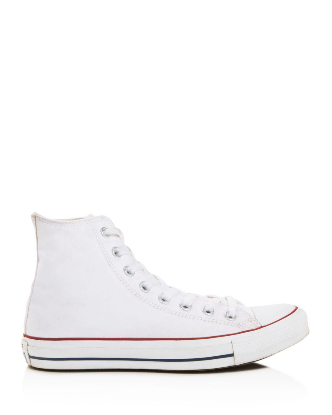1109ac2ce9d8 Lyst - Converse All Star Hi Top Women s Trainer White in White - Save 36%