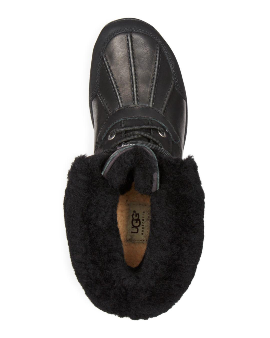 487dde656bb Lyst - UGG Australia Men's Butte Boots in Black for Men