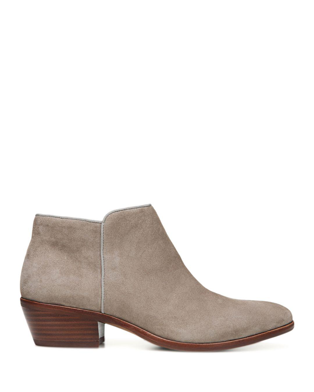 339c872ab3ab19 Sam Edelman Petty Ankle Boots in Brown - Lyst
