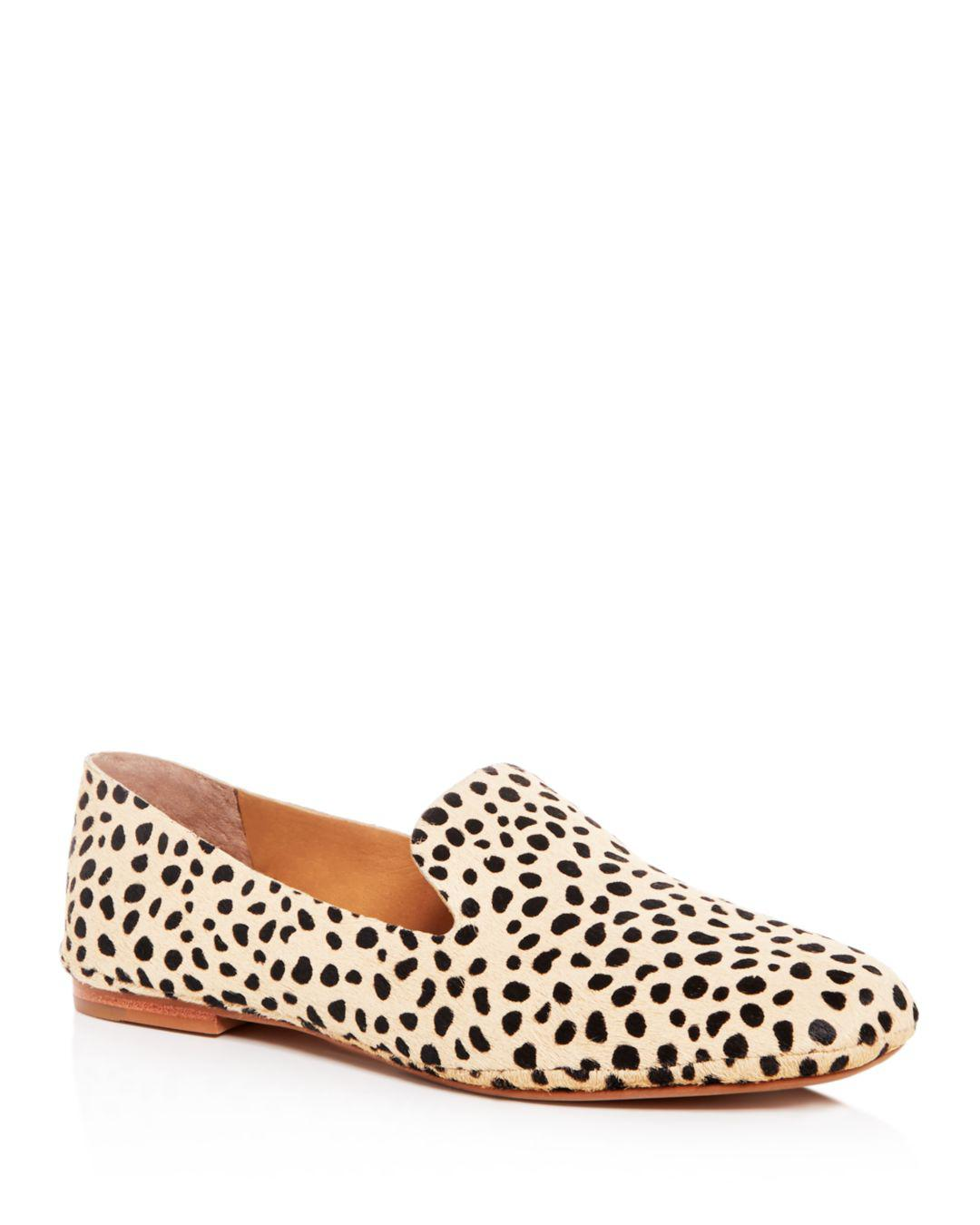 f196795d0d02 Lyst - Dolce Vita Women's Wynter Leopard Print Calf Hair Smoking ...