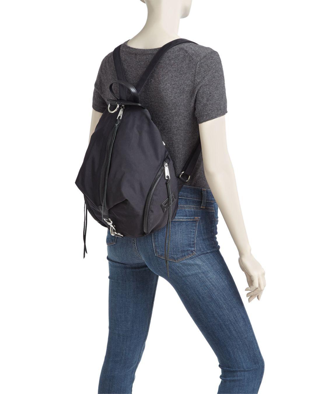Lyst - Rebecca Minkoff Julian Nylon Backpack in Black aef0cad031713