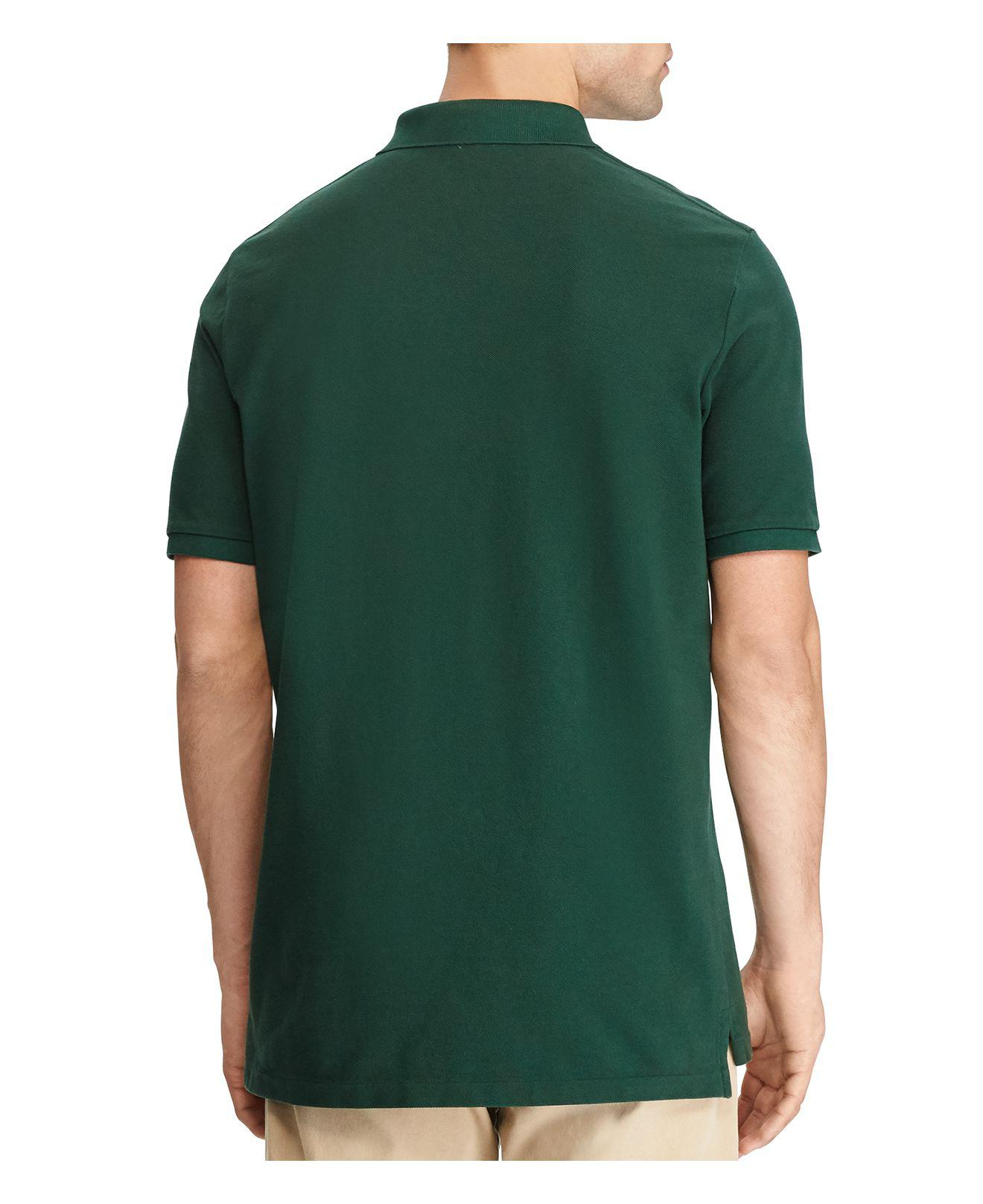 ddac1ffc Polo Ralph Lauren Weathered Mesh Classic Fit Polo Shirt in Green for ...