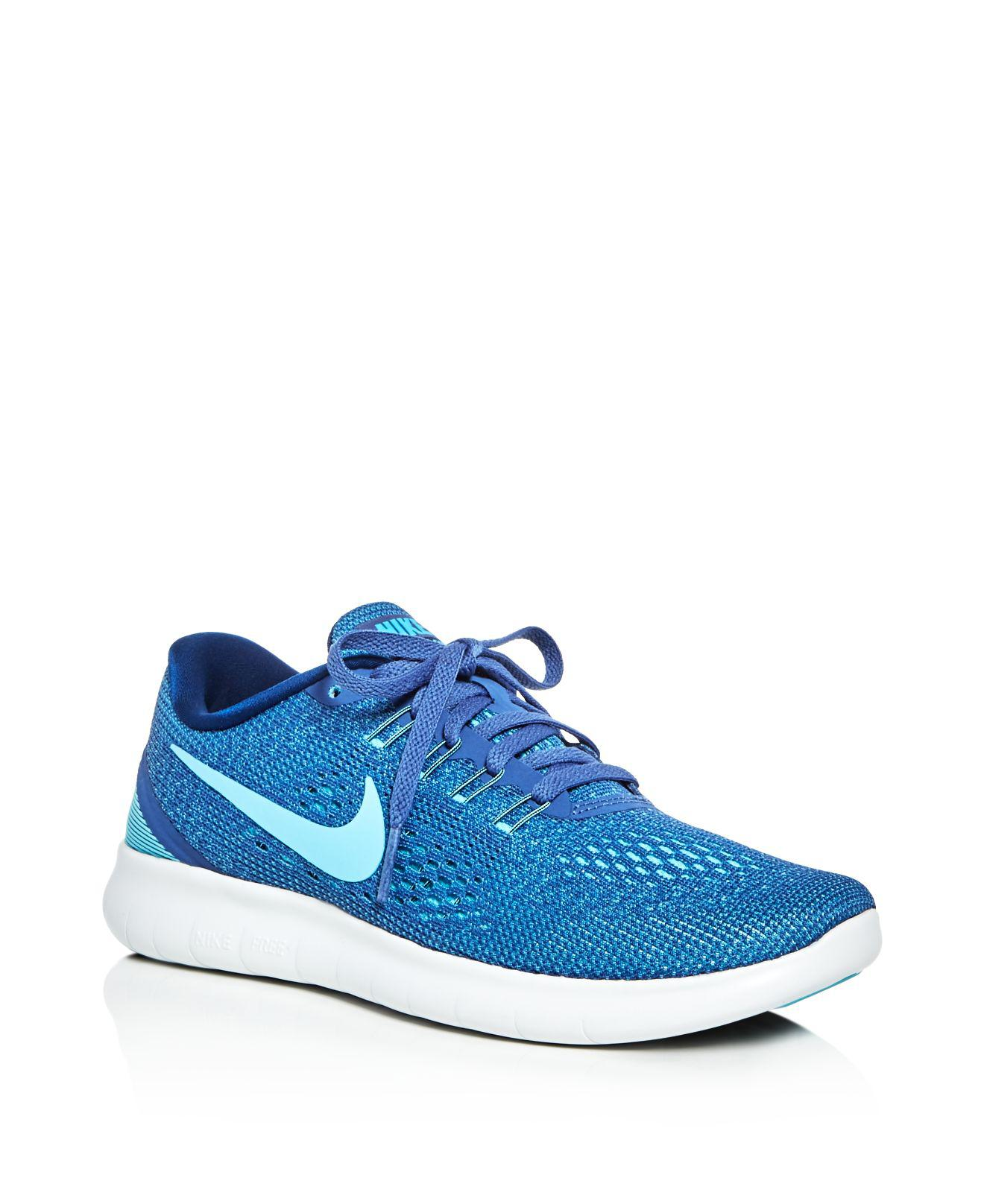74ee25ad733 Lyst - Nike Women s Free Run Natural Lace Up Sneakers in Blue for Men