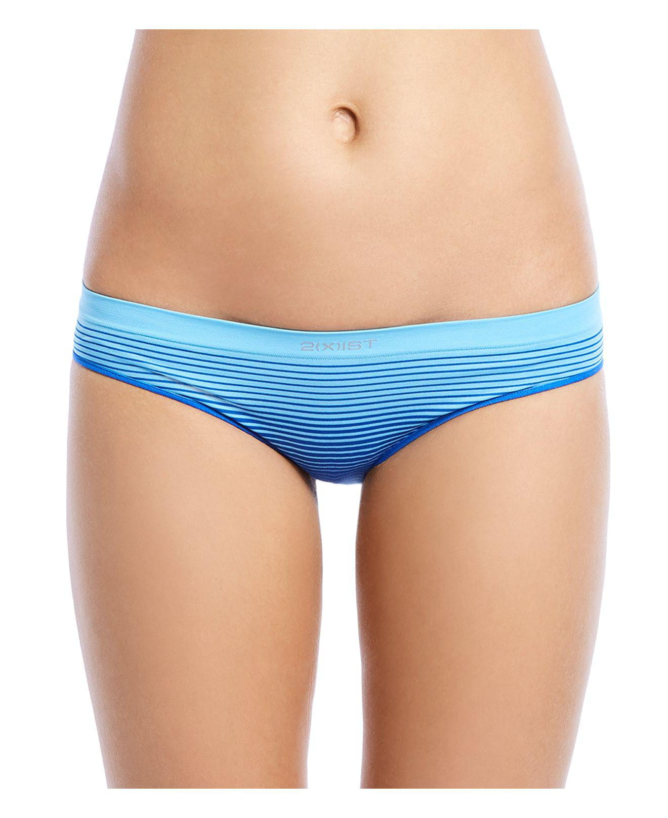 67522432d7 Lyst - 2Xist Seamless Bikini in Blue