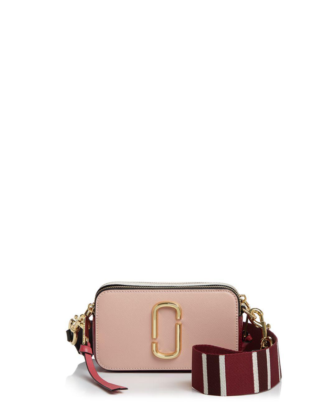 6053557ec7a Marc Jacobs Snapshot Color Block Saffiano Leather Camera Bag - Save ...