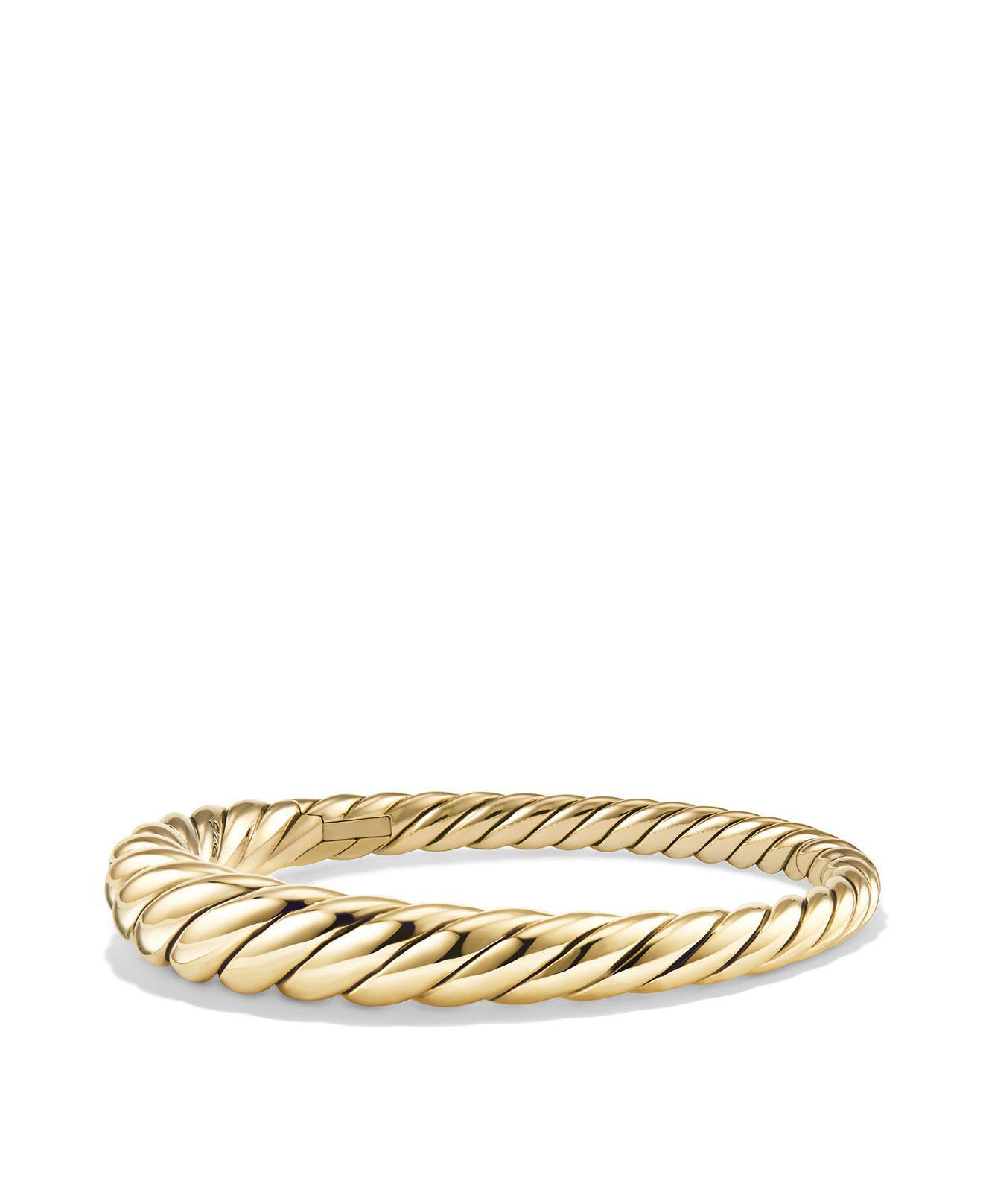 David Yurman Pure Form Cable bangle - Metallic B1sI2