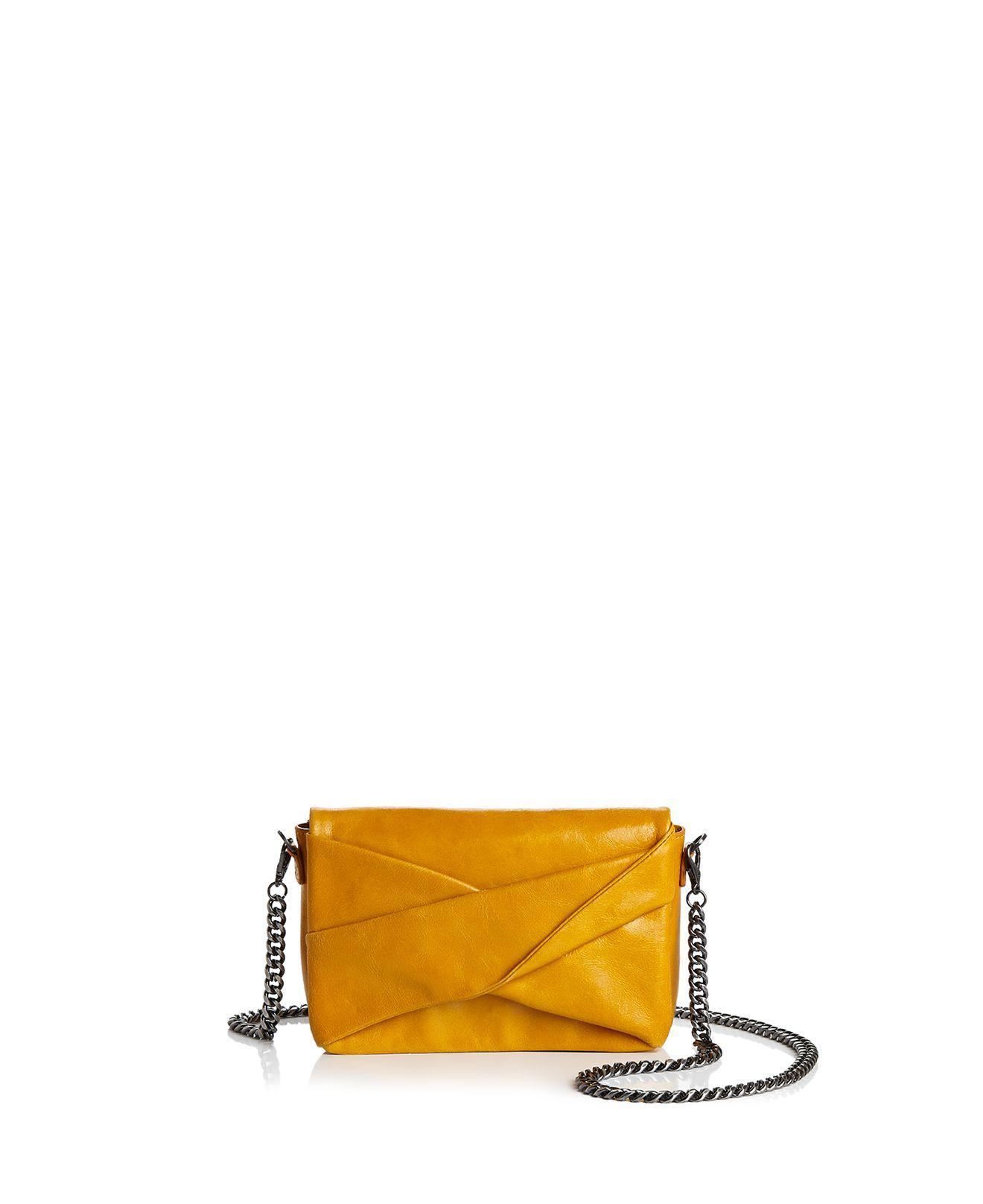 Halston Heritage Grace Small Bow Convertible Leather Crossbody Best Choice Geniue Stockist Cheap Price New y4f1eeidL