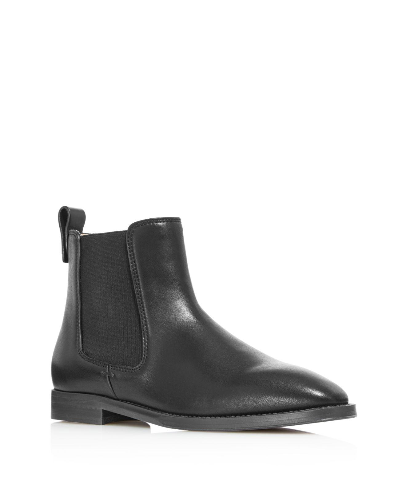 Outlet Finishline Stuart Weitzman Women's Atom Leather Chelsea Booties Recommend Cheap Price Cheap Clearance Clearance Great Deals Genuine For Sale raZlElKG