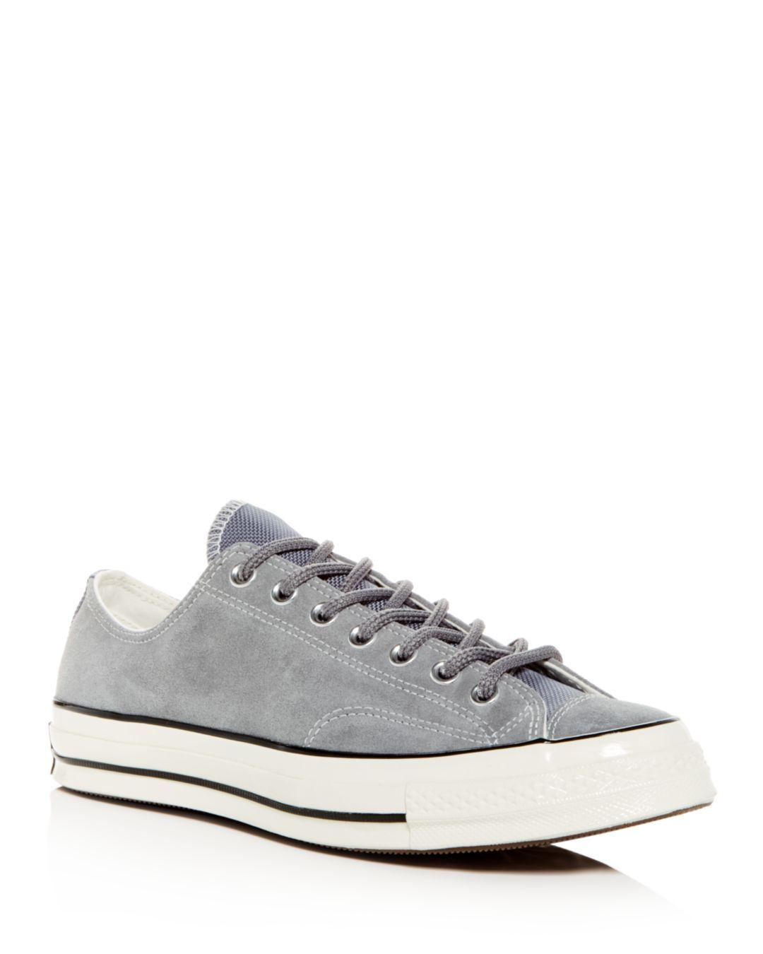 bcdc199cdb8a Converse Men s Chuck Taylor All Star 70 Suede Lace-up Sneakers in ...