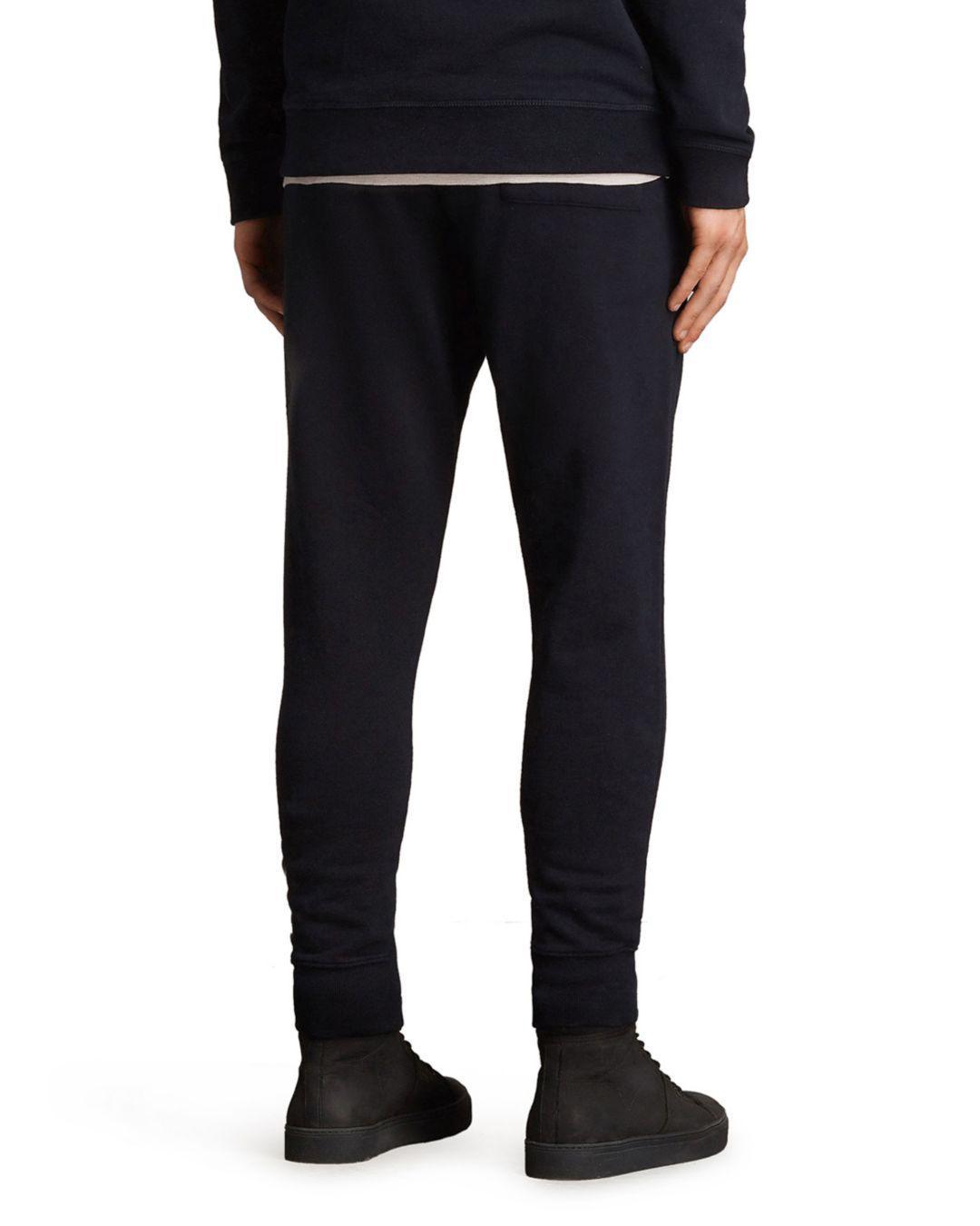 e29e4b64e66601 Lyst - AllSaints Raven Sweatpants in Blue for Men