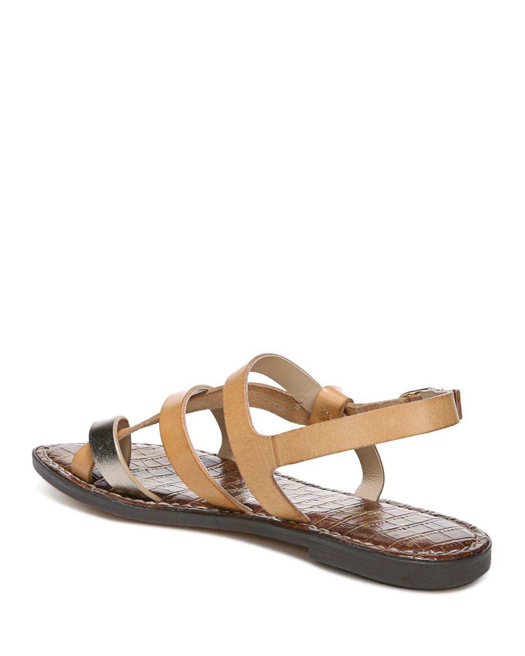 d9eae0357591 Sam Edelman - Multicolor Women s Gladis Strappy Knotted Sandals - Lyst.  View fullscreen