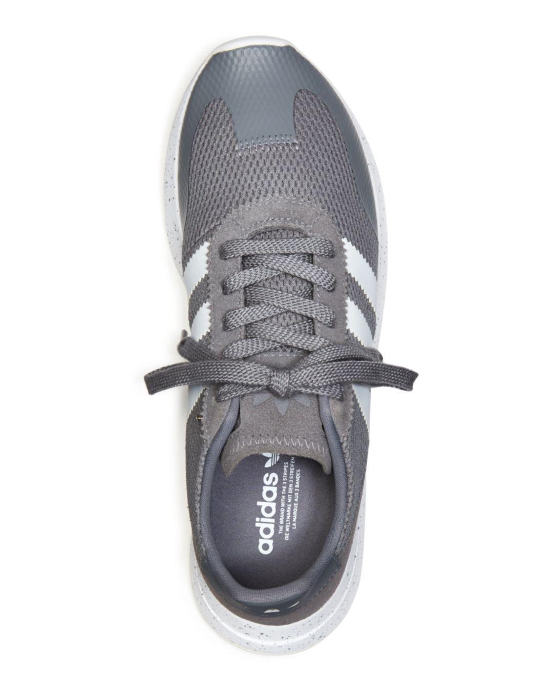 738647ecd Adidas - Gray Women s Flb Runner Sneakers - Lyst. View fullscreen