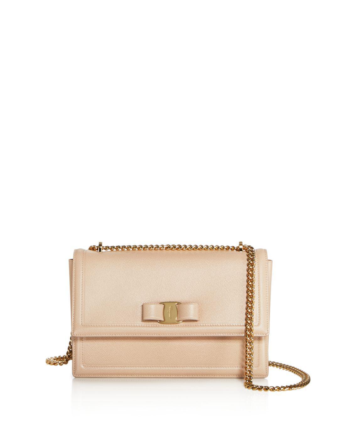 06c401883962 Ferragamo. Women s Ginny Medium Saffiano Leather Shoulder Bag