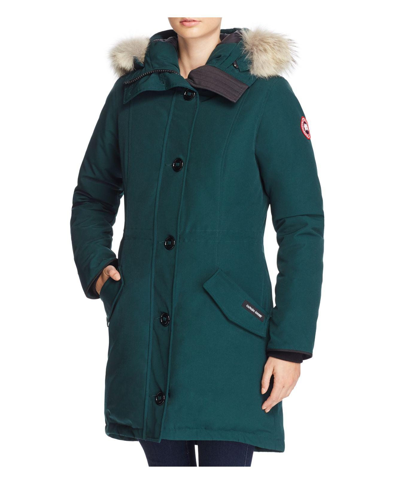 canada goose rossclair parka green