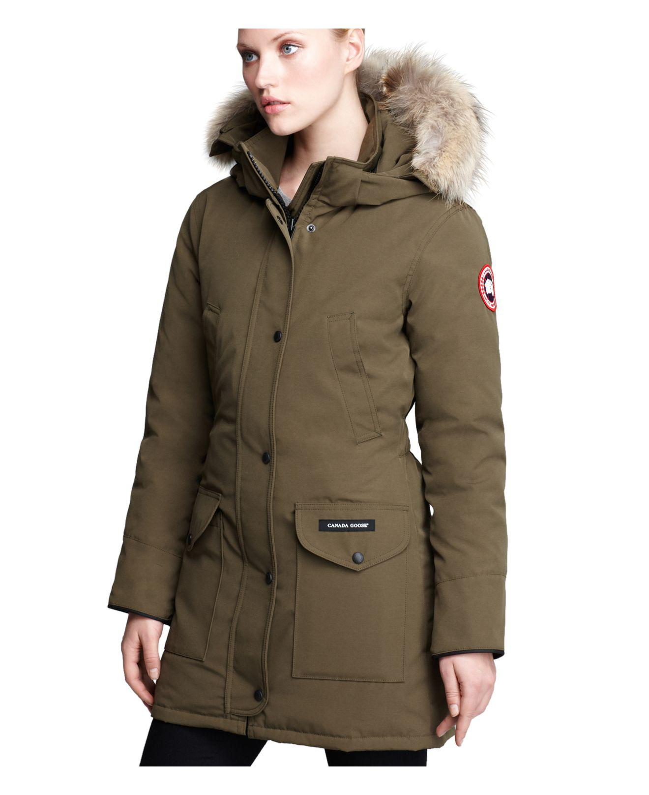 canada goose womens green