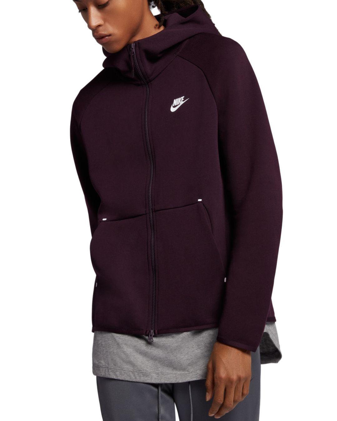 61adc2362ba4b Lyst - Nike Tech Fleece Hoodie in Purple for Men