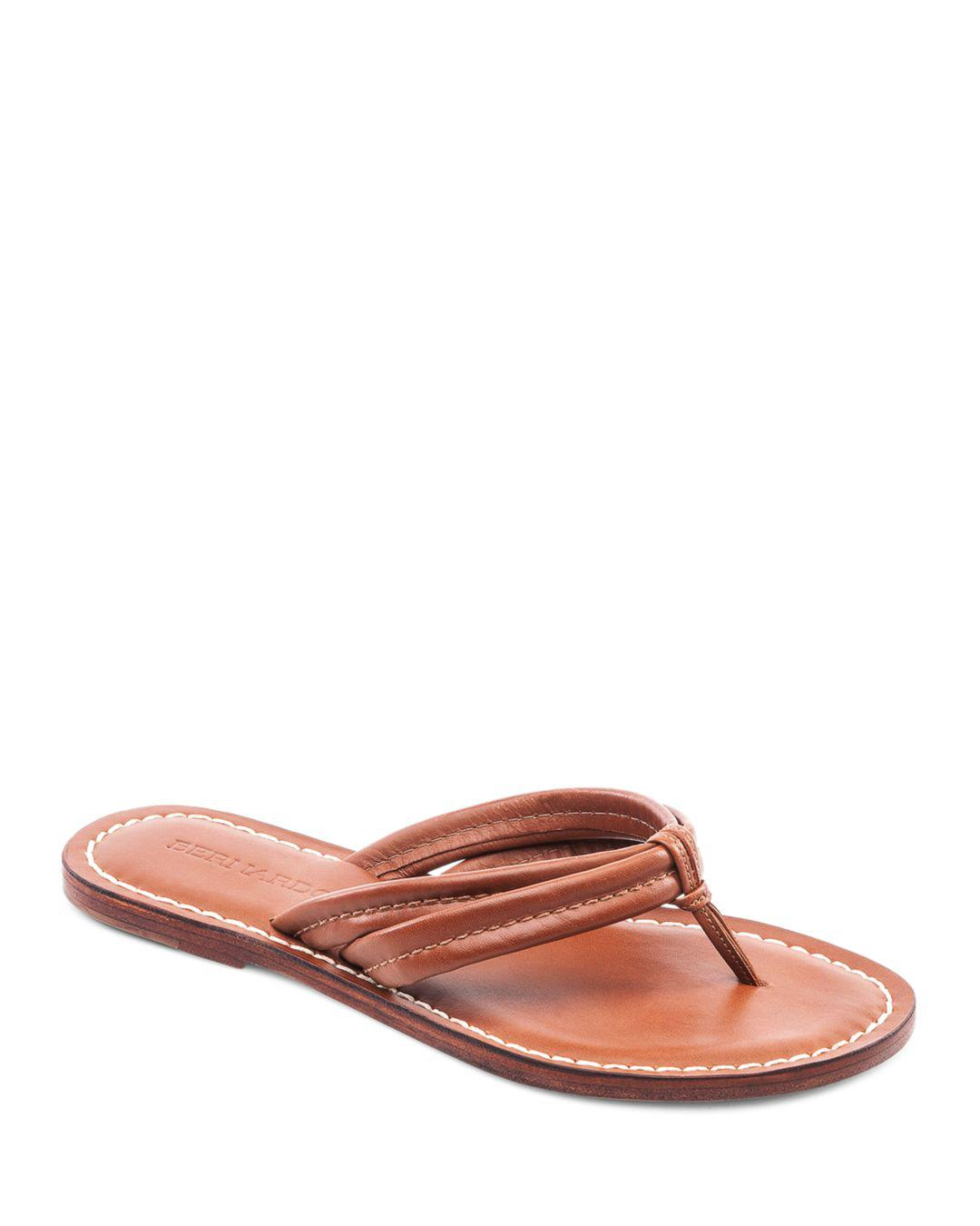 b657a0e78958 Bernardo Miami Two Strap Thong Sandals - Save 34% - Lyst