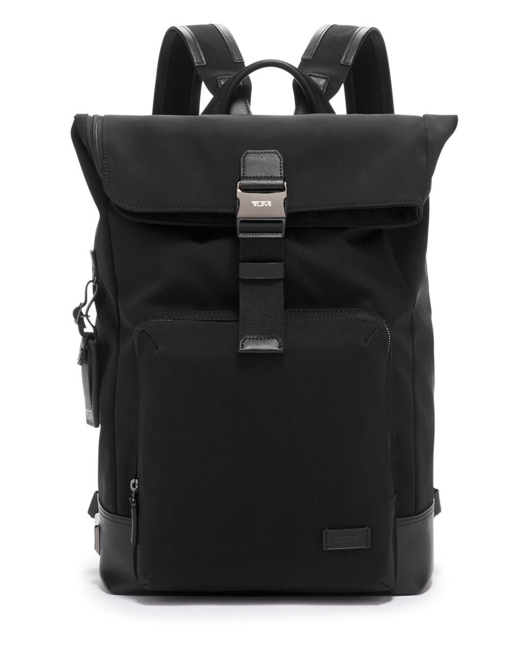 53f04052cf Lyst - Tumi Harrison Oak Roll-top Backpack in Black for Men - Save 11%