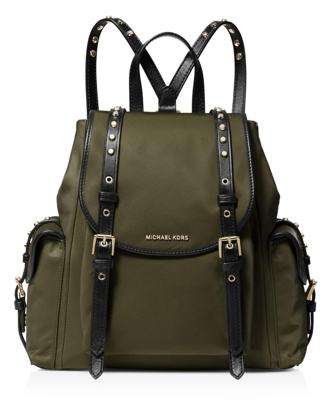 4b0278d4a6e6 MICHAEL Michael Kors. Women's Michael Kors Leila Olive Green Backpack