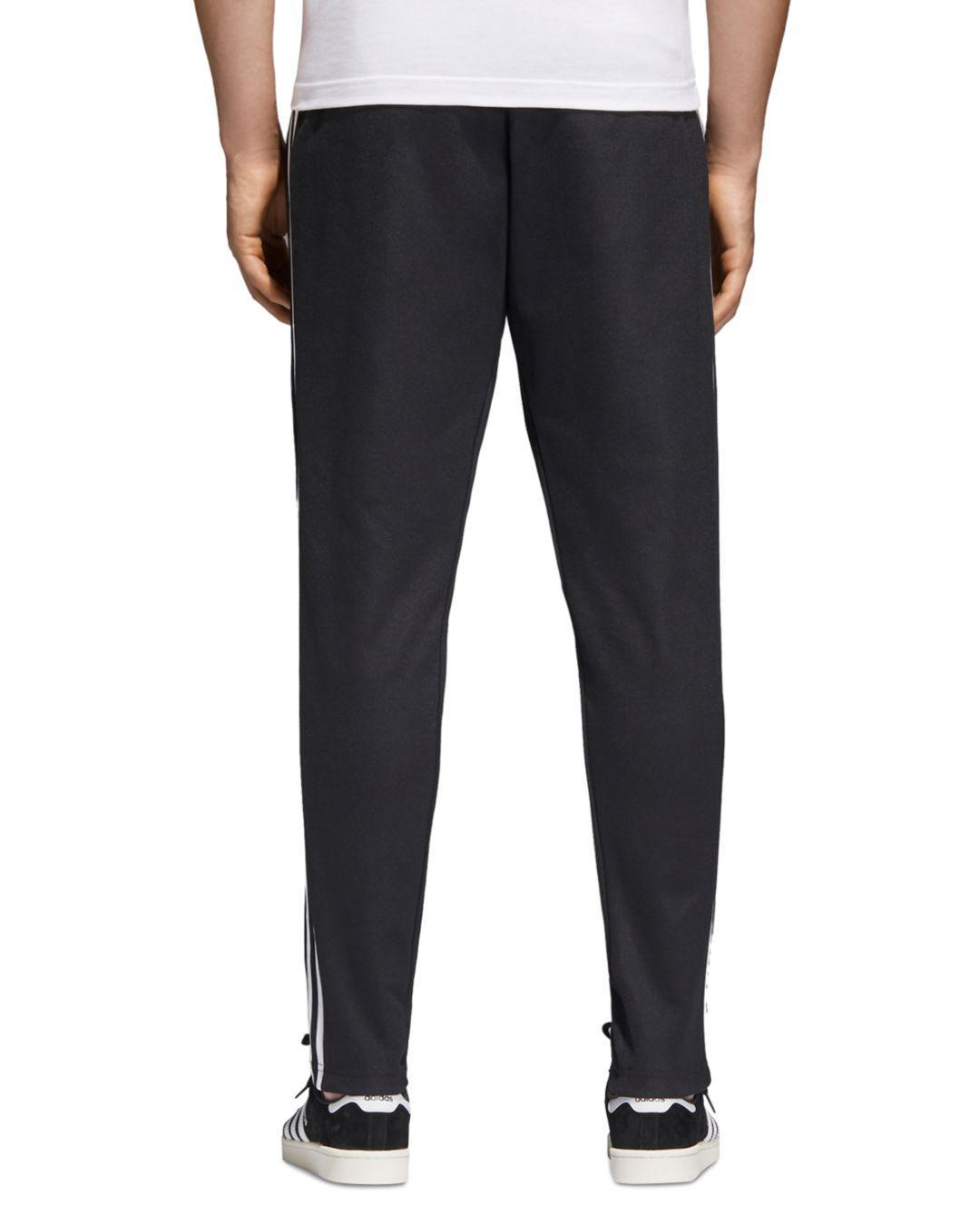 adidas Men's Originals Beckenbauer Track Pants in Black for