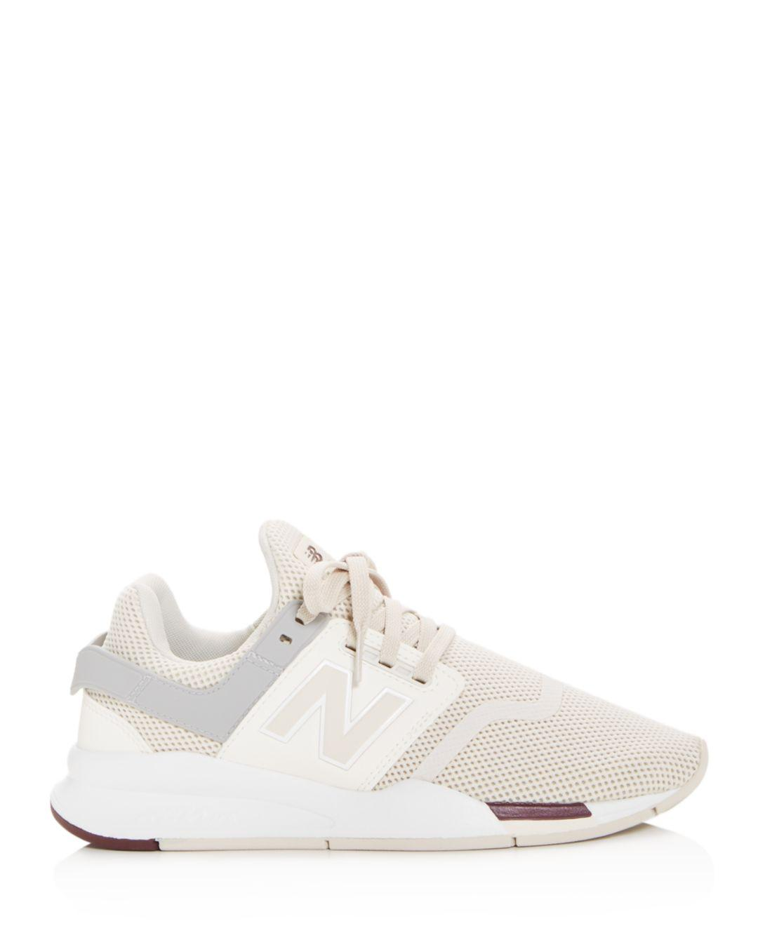 separation shoes 918bf 17f6a Lyst - New Balance Women s 574 Low-top Sneakers in White