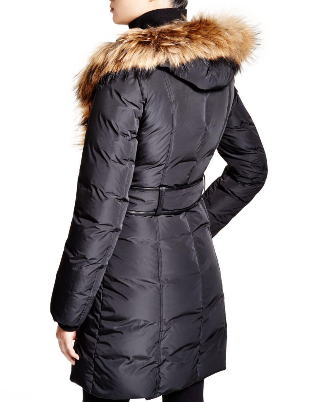 29e4675d8e6b Lyst - Mackage Kay Lavish Fur Trim Down Coat in Gray - Save 50%