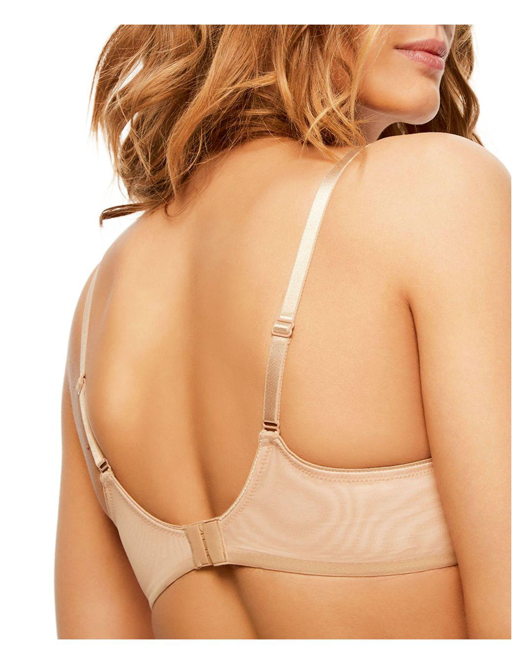 d76772eeb8d Lyst - Chantelle Revele Moi Perfect Fit Underwire Bra in Natural