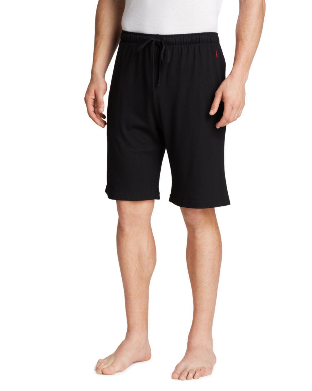 d2ea0116b Polo Ralph Lauren Ralph Lauren Supreme Comfort Sleep Shorts in Black ...