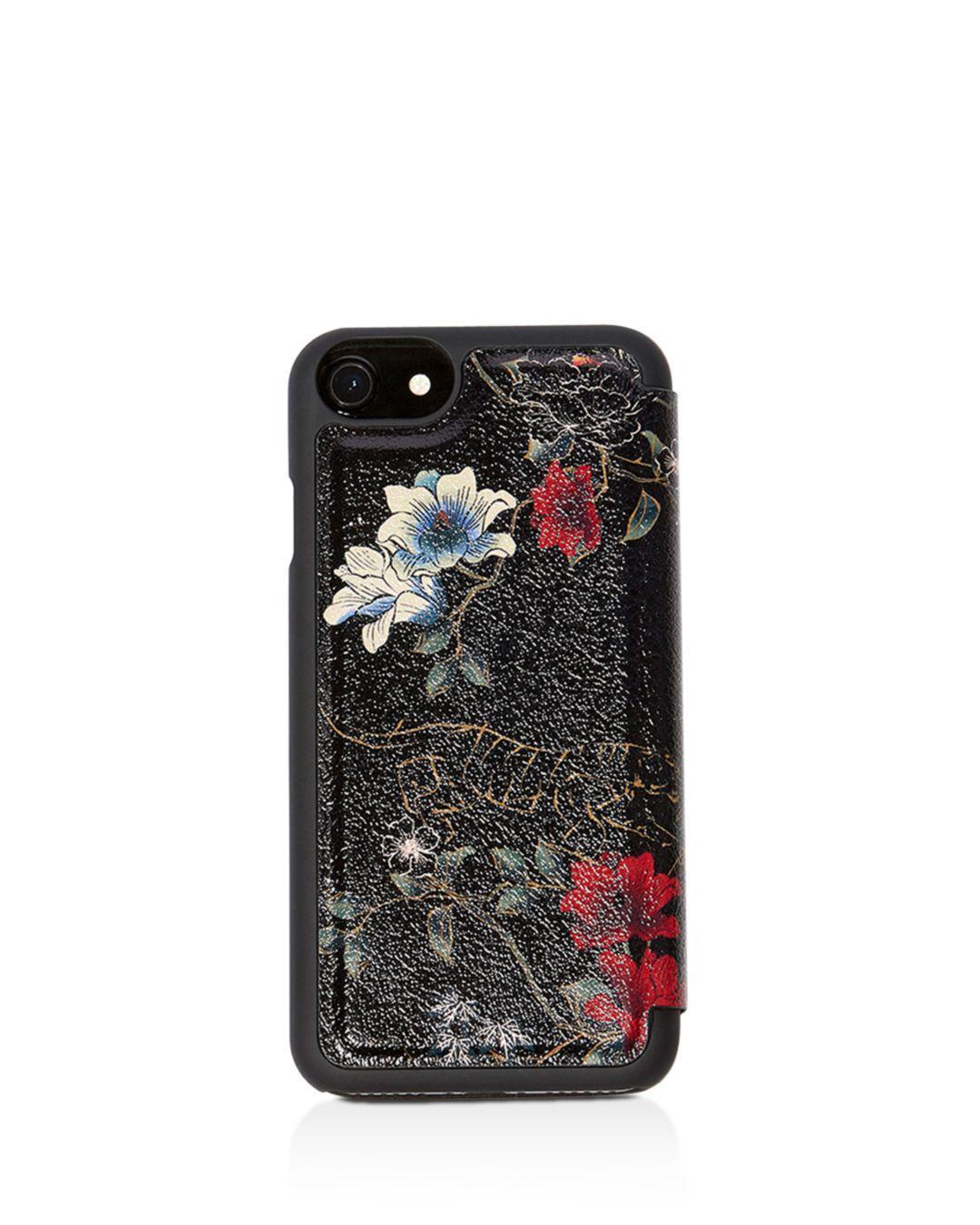 20e52fc70e6d Lyst - Karen Millen Tiger Iphone 7 Case in Black