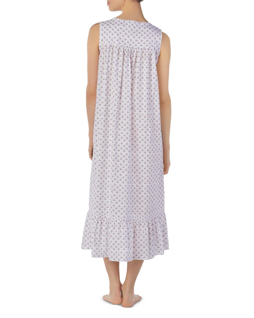 8dadc01d8d Lyst - Eileen West Sleeveless Long Ballet Nightgown