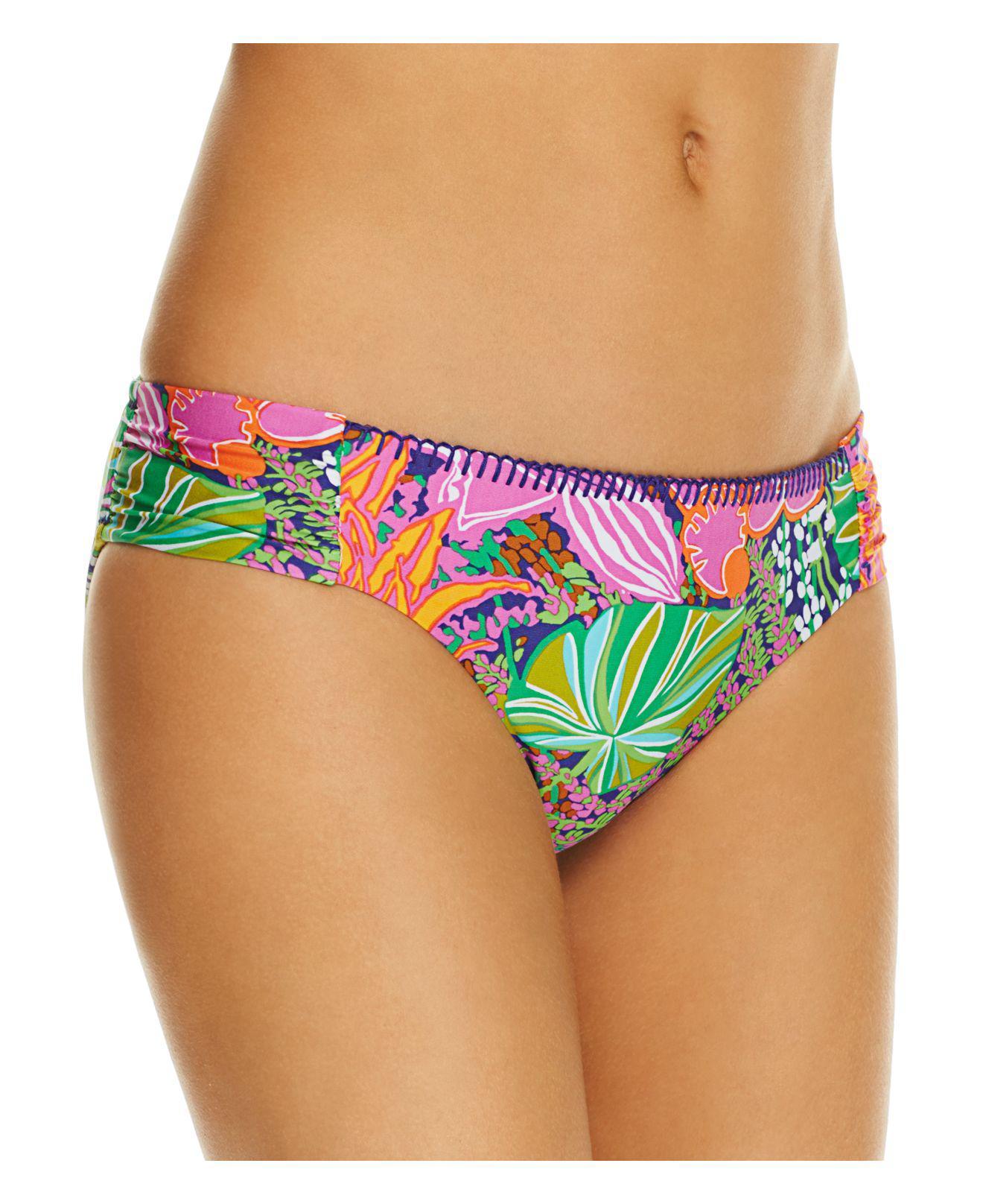4086c80ad1bcb Trina Turk - Multicolor Tropical Escape Hipster Bikini Bottom - Lyst