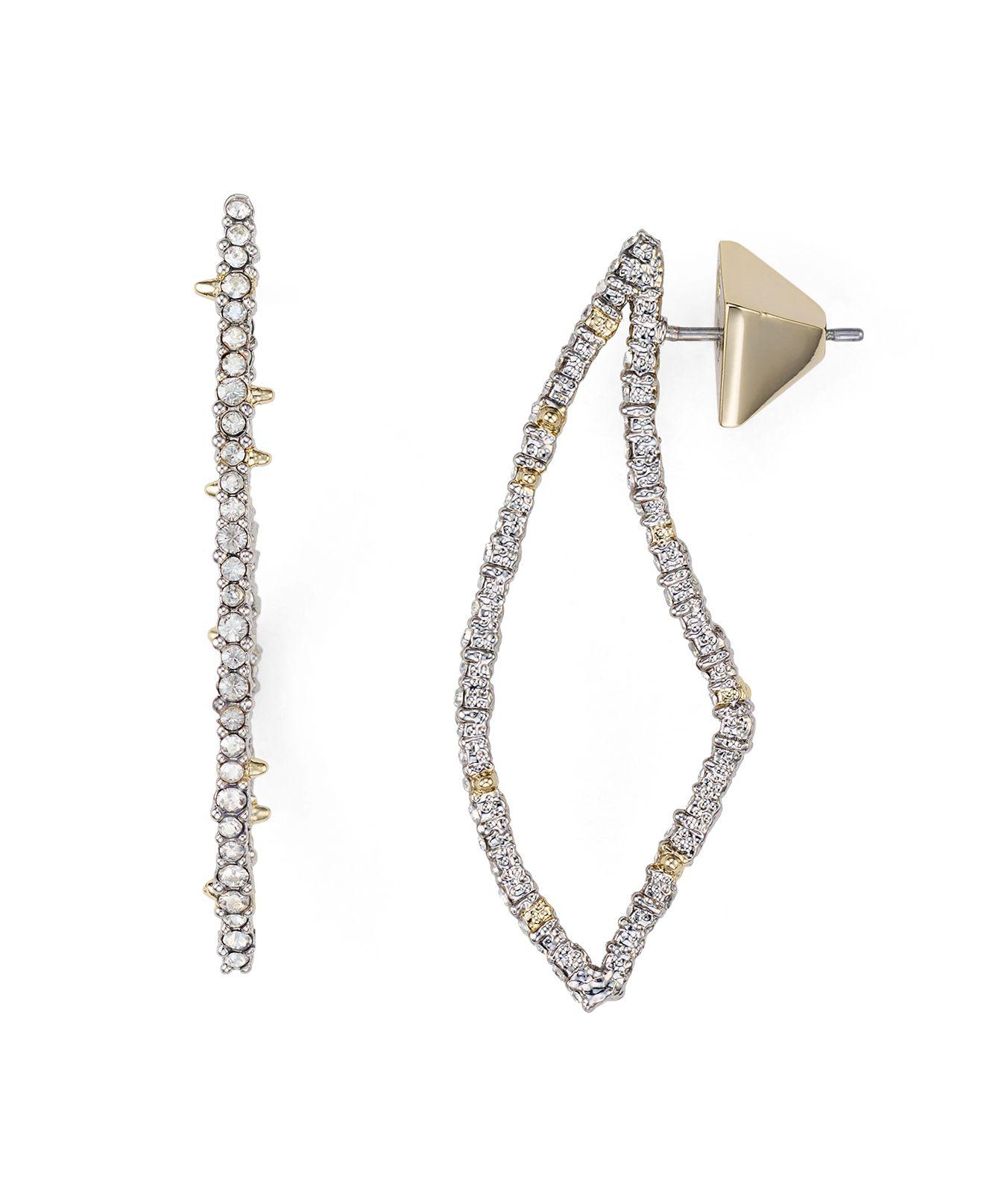 Alexis Bittar Pavé Crystal-Encrusted Thorn Drop Earrings CIbvwZSf6