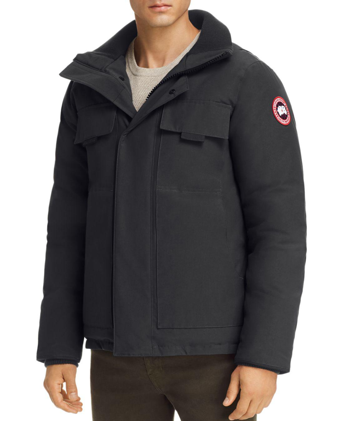 76ff4a18a014f Canada Goose - Black Forester Down Jacket for Men - Lyst. View fullscreen