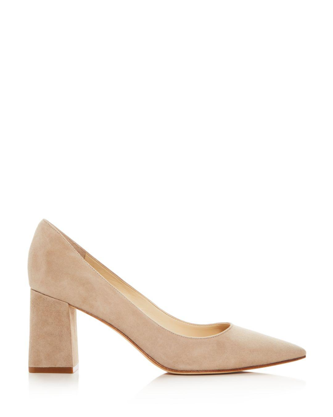 e42eaf6a563 Lyst - Marc Fisher Zala Suede Pointed Toe Pumps