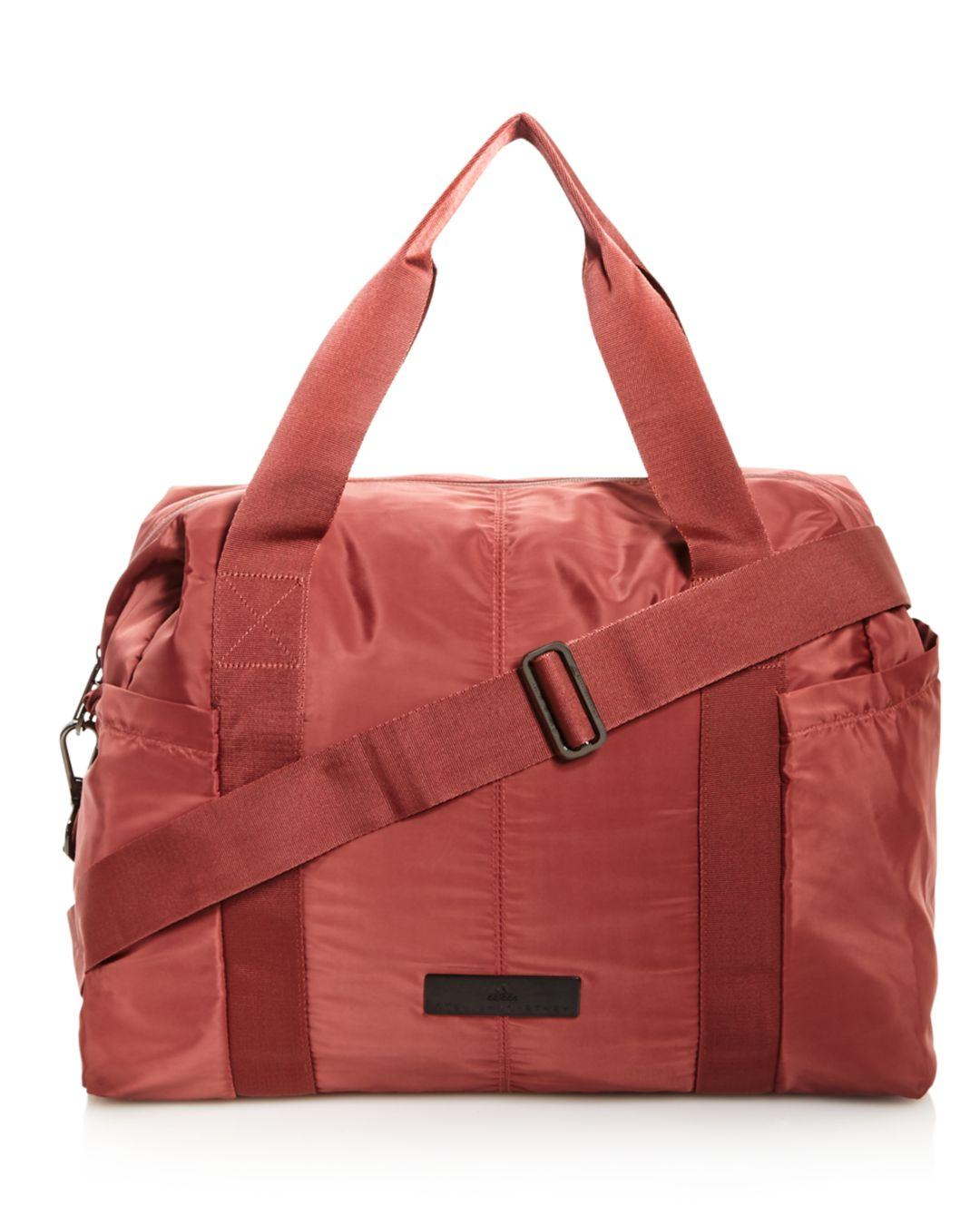 e9a398be4a Lyst - adidas By Stella McCartney Shipshape Gym Bag in Red