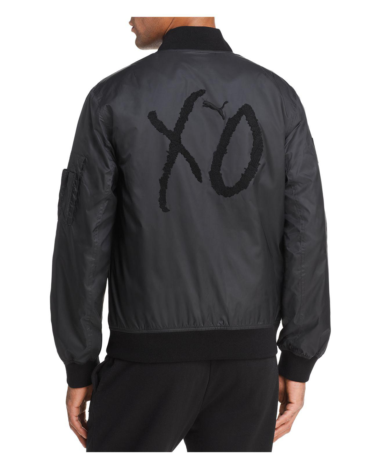 0e88cb6f7c73 Lyst - PUMA X Xo The Weeknd Bomber Jacket in Black for Men