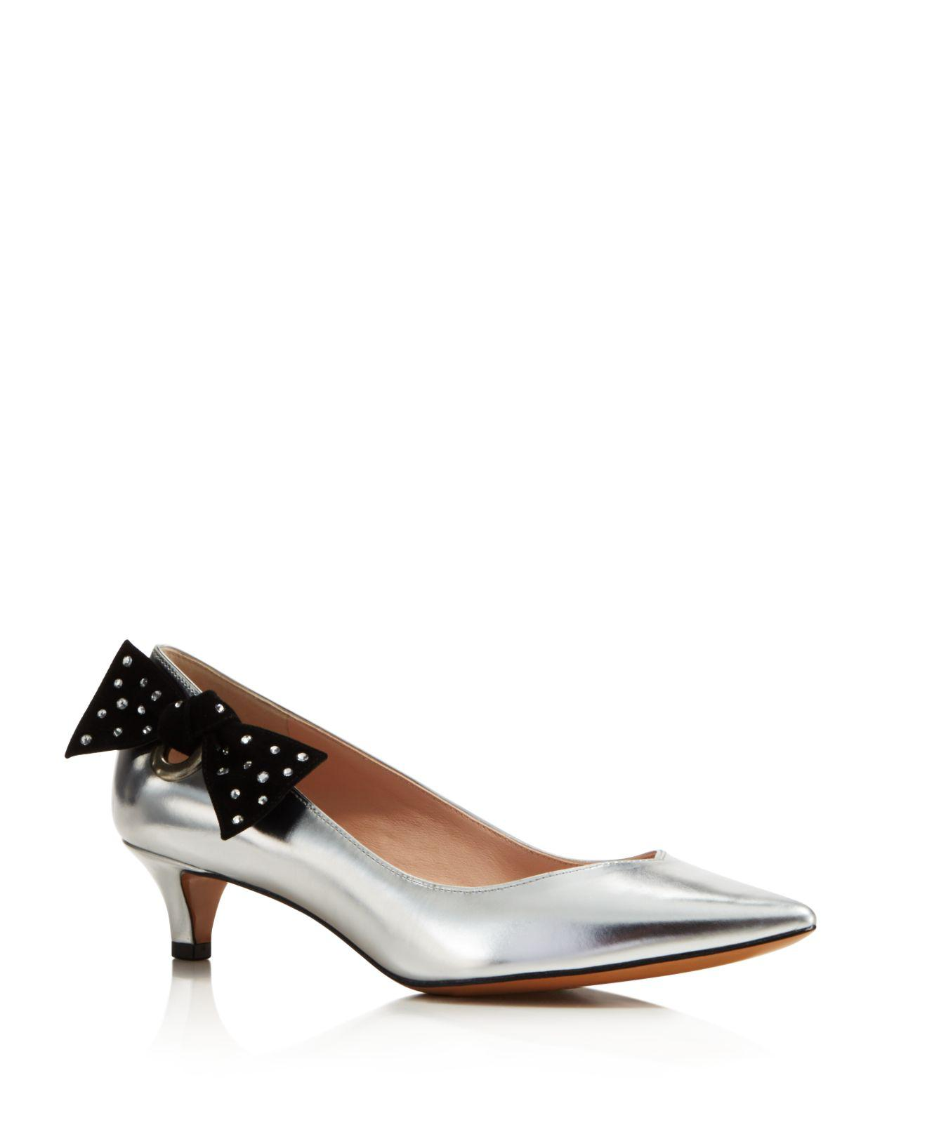 Kitten heels are back – Marc Jacobs style