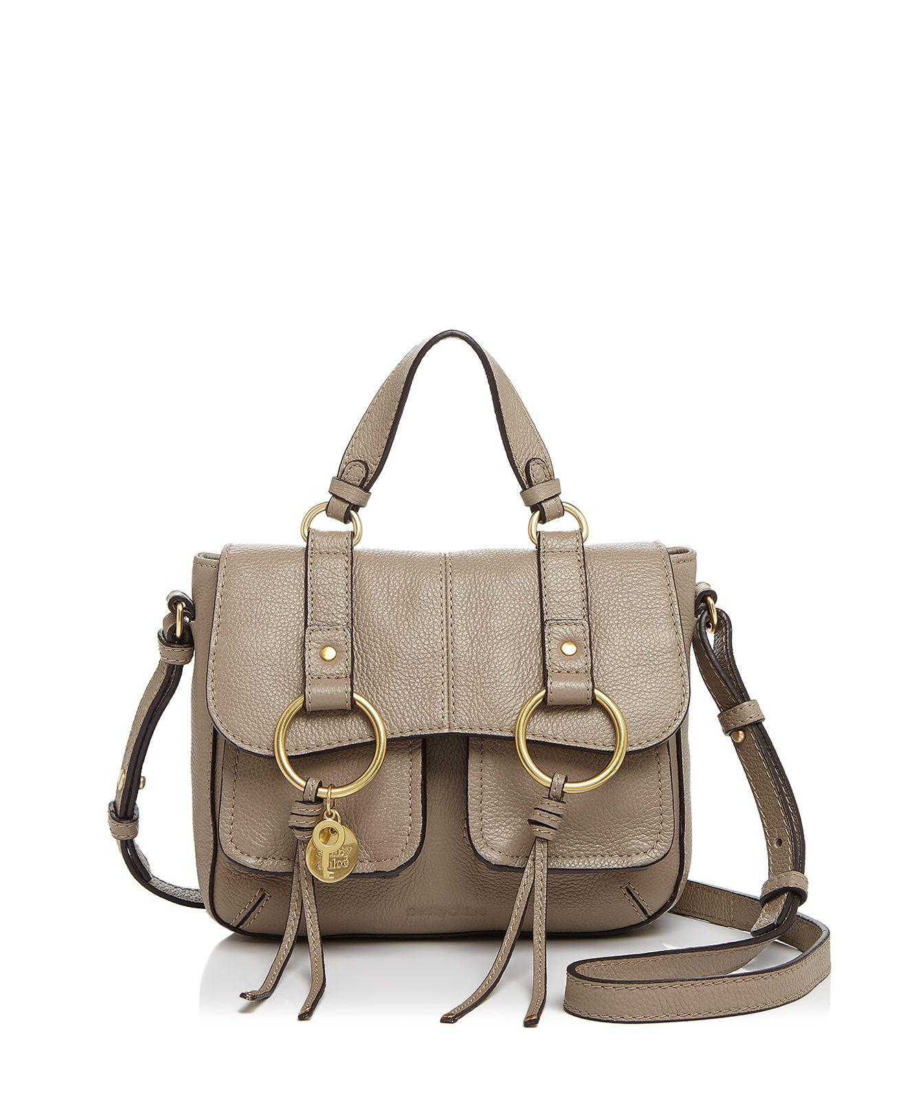 930ea1d627 Lyst - See By Chloé Filipa Leather Shoulder Bag