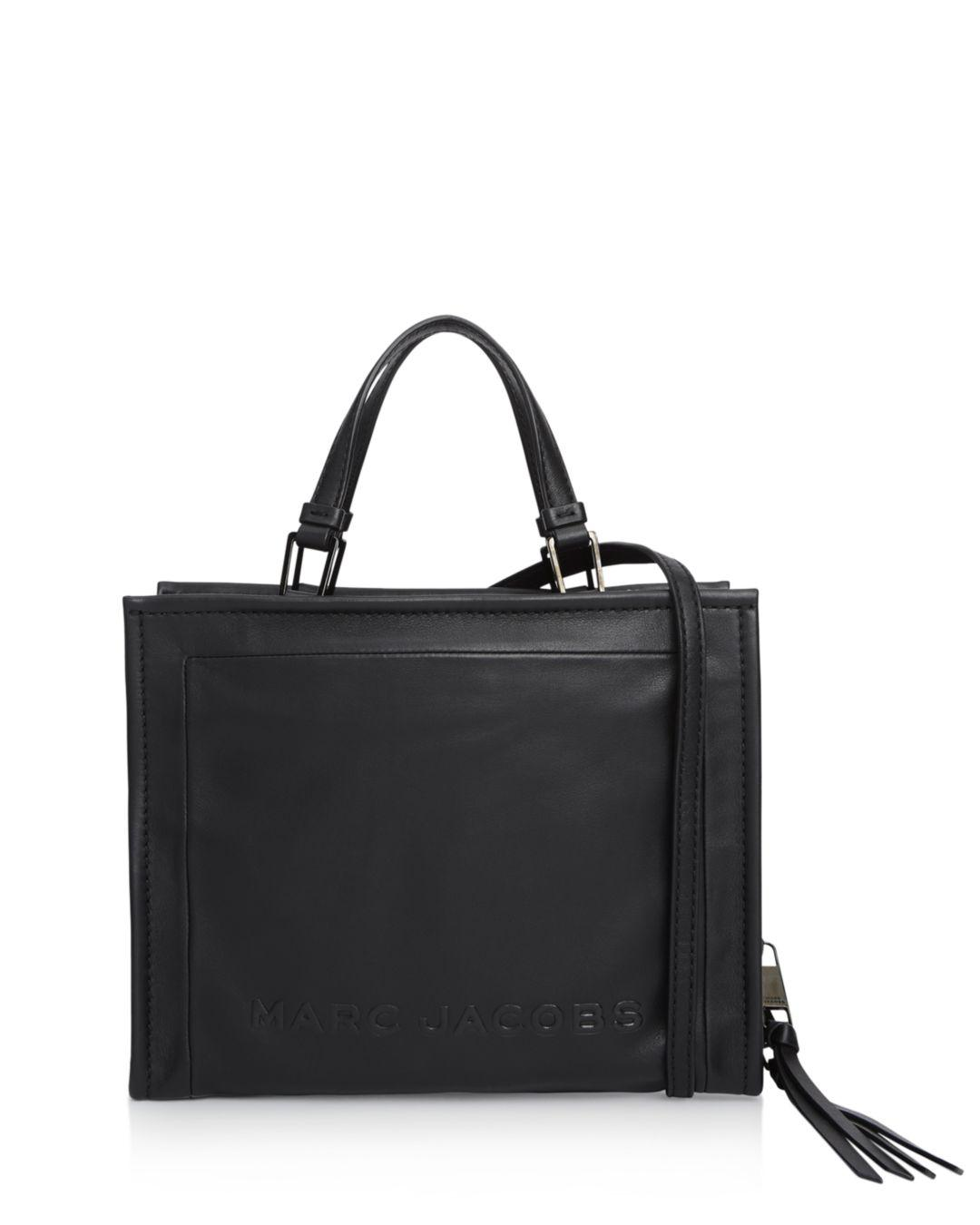 2843927a77a3 Marc Jacobs - Black The Box Large Leather Shopper Tote - Lyst. View  fullscreen