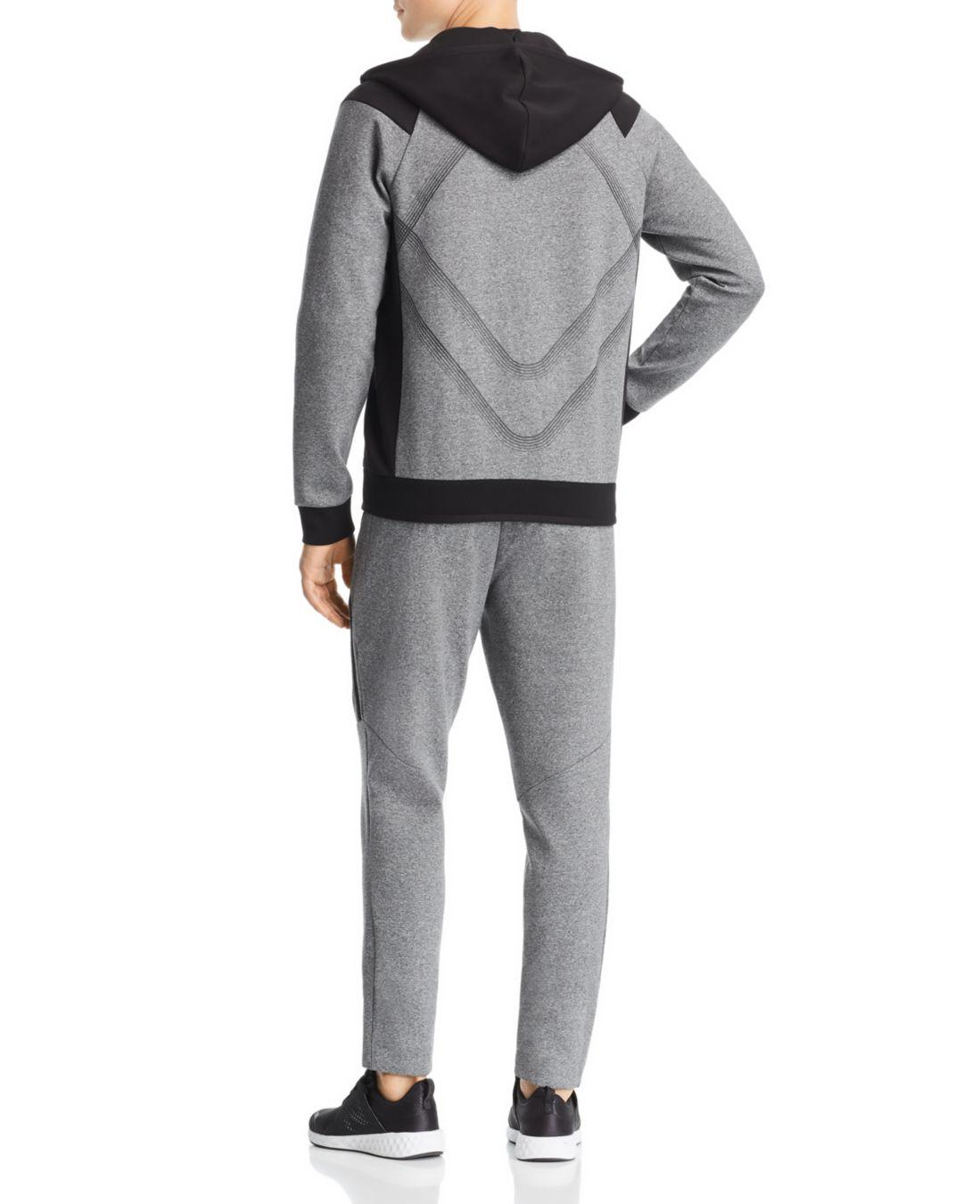 41d751036 BOSS Boss Selnio Color - Block Hoodie in Gray for Men - Save 60% - Lyst