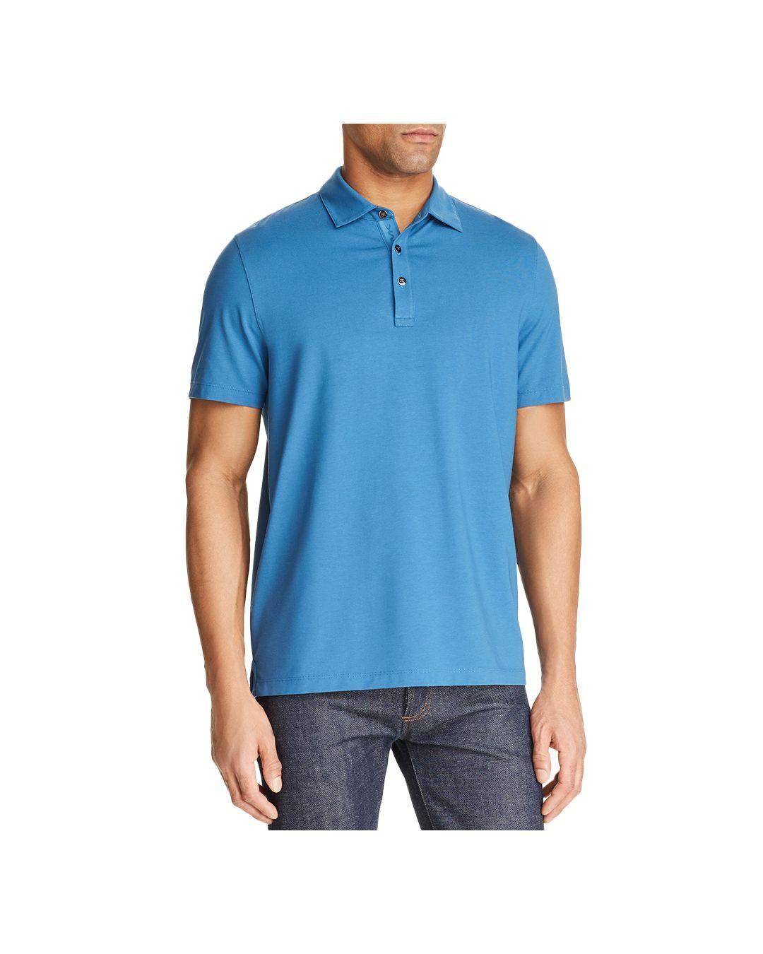 5603427c Lyst - Michael Kors Bryant Classic Fit Polo Shirt in Blue for Men