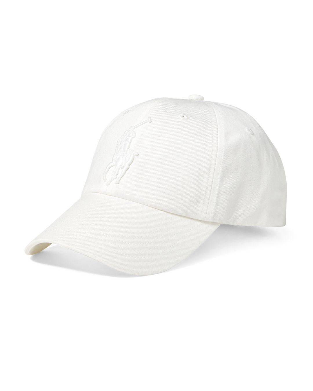 007c623c6 Lyst - Polo Ralph Lauren Chino Baseball Cap in White for Men
