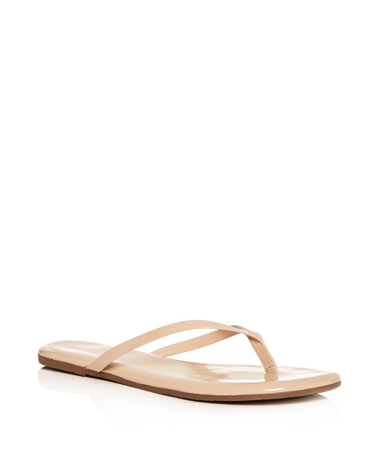 Tkees Women's Foundations Gloss Patent Leather Flip-Flops gnT9cRHFK
