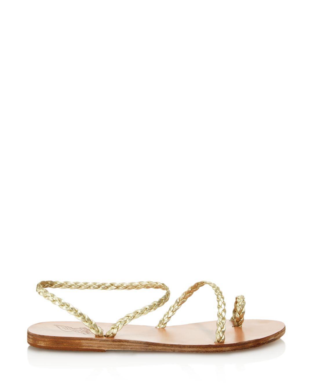0ae315a5bf5099 Lyst - Ancient Greek Sandals Women s Eleftheria Braided Slip-on Sandals