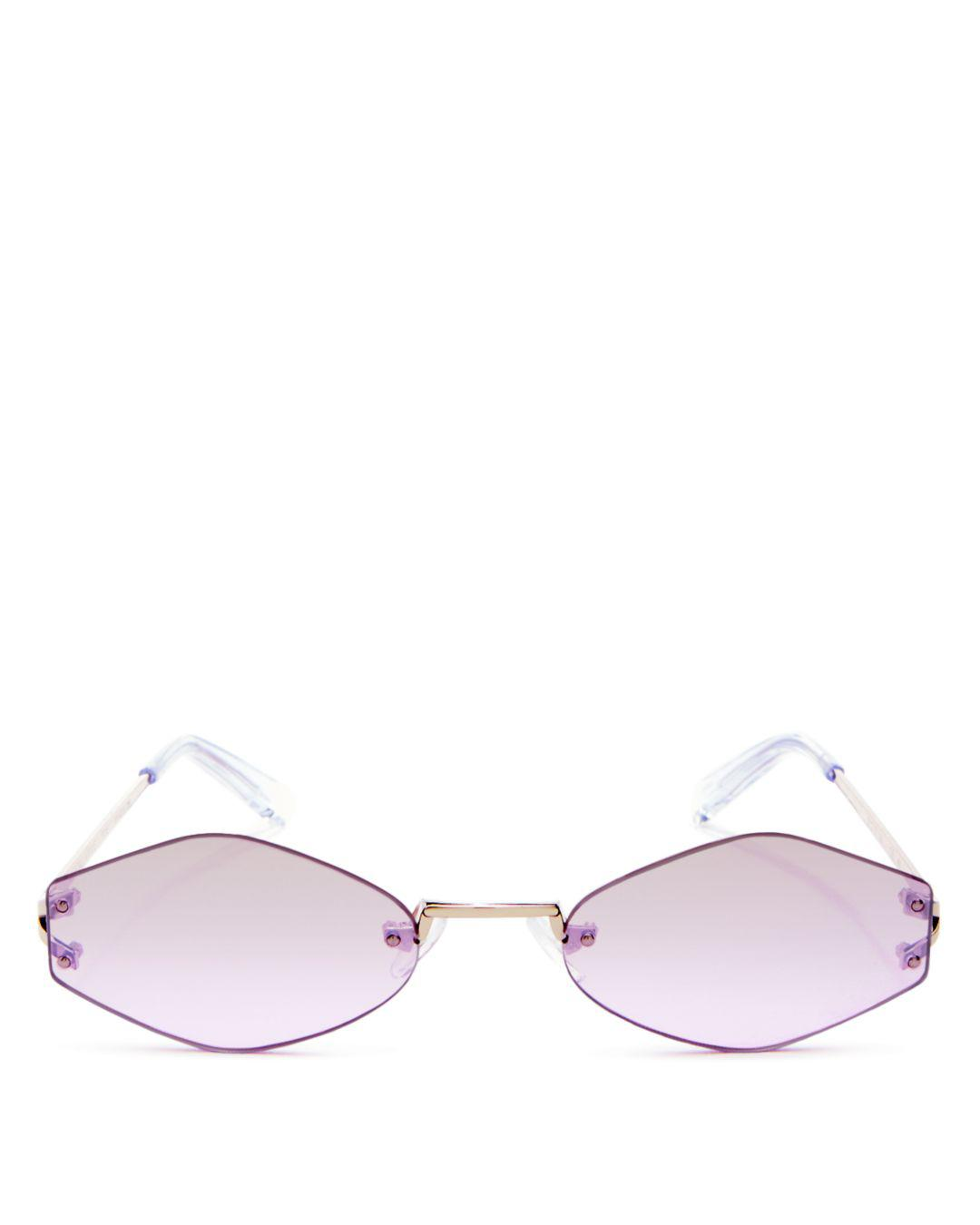 bc2d9ab113 Kendall + Kylie Kendall And Kylie Women s Kye Mirrored Round ...