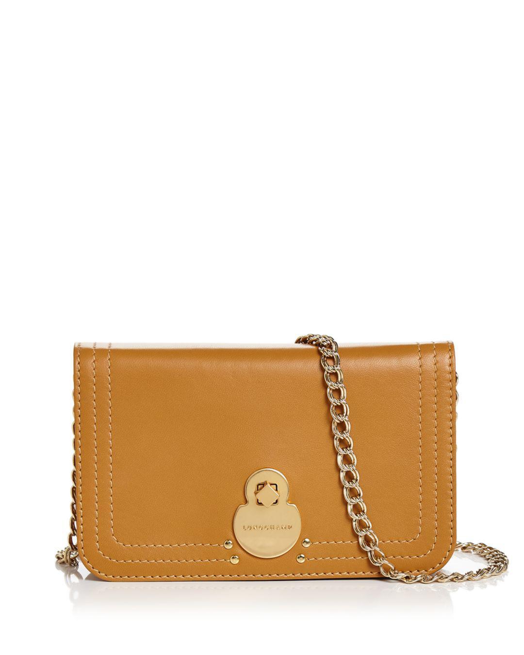 f95dacba2193 Longchamp. Women s Cavalcade Wallet On Chain Leather Crossbody